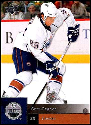 - 2009-10 Upper Deck Hockey Series 1#192 Sam Gagner Edmonton Oilers Official NHL UD Trading Card