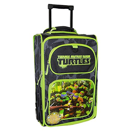 Tmnt Suit (Nickelodeon Teenage Mutant Ninja Turtles Light Up Pilot Case Suitcase Luggage)