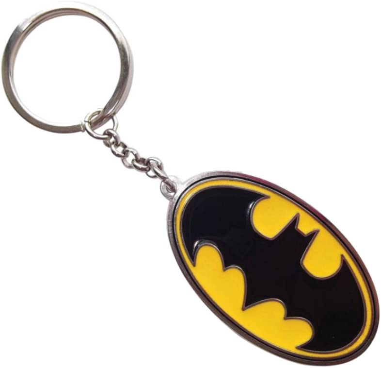 Multicolore Pyramid International DC Comics Batman Symbole en caoutchouc Porte-cl/és 4.5/ x 6/ cm