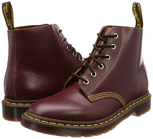 Dr Mens 101 Arc Bordeaux Leather Eyelet martens Boots 6 qq4rfwa1Bx