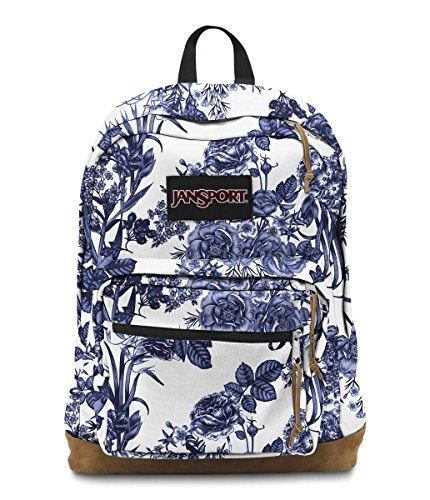 JanSport Right Pack Expressions Laptop Backpack - White Artist Rose c2aba52ecaf94