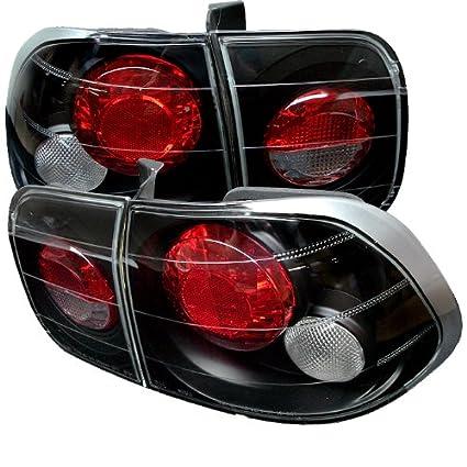 Spyder Honda Civic 96 98 4Dr Altezza Tail Lights   Black