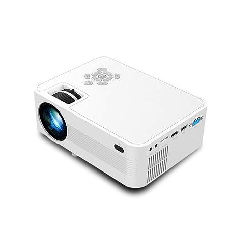 Wangchengtyy Mini proyector portátil de 1080p 3000 lúmenes para ...