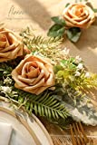 Floroom Artificial Flowers 50pcs Real Looking Gold