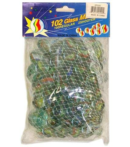 DollarItemDirect 102PC Marbles 8x5 in, Case of 50