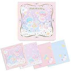 Sanrio Little Twin Stars origami-style memo starry sky of the jewelry box From Japan New