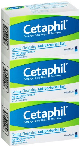 Cetaphil antibacterial bar soap review