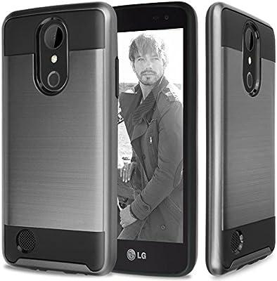 LG Aristo Case, LG Fortune Case, LG Phoenix 3 Case, LG Risio 2 Case, LG K4  Case, LG Rebel 2 LTE Case, TJS Hybrid Shockproof Impact Resist Case Cover