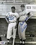 Willie Mays & Al Kaline reprint 8x10 Photo New York Yankees - Mint Condition