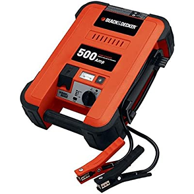 Black & Decker Amp Waterproof Battery Charger and Maintainer 5
