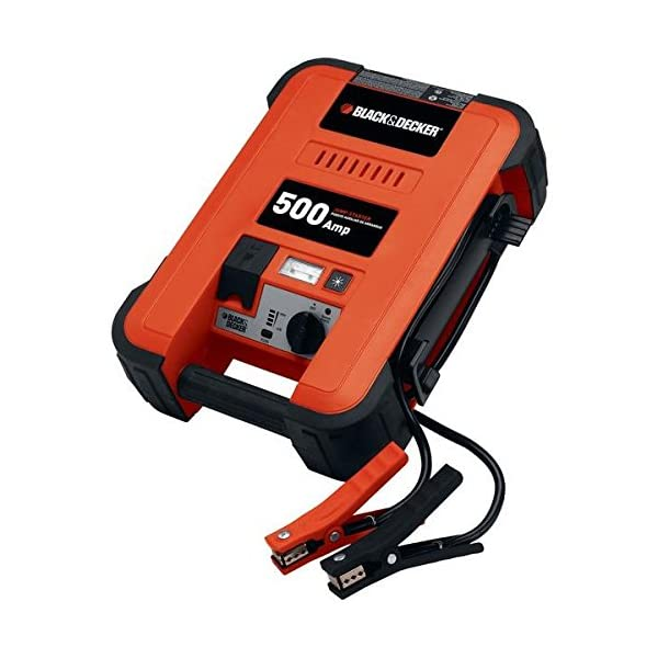 BLACK+DECKER Amp Waterproof Battery Charger And Maintainer 5