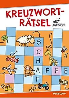 Die Kreuzworträtselknacker Ab 7 Jahren Band 1 Wortschatzspiele