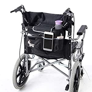 Bolsa de movilidad para silla de ruedas, gran paquete de accesorios sencillos para tus dispositivos