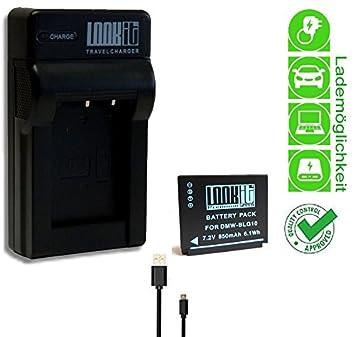 LOOKit Cargador micro USB + 1x LOOKit BLG10 Batería para ...