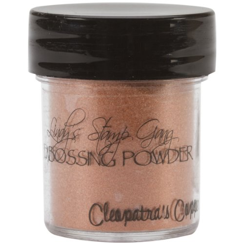 Lindy's Stamp Gang 2-Tone Embossing Powder, 0.5-Ounce Jar, Cleopatra's Copper