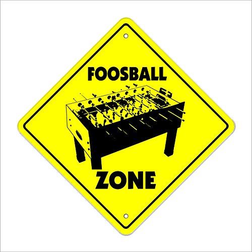 Cortan360 Foosball Crossing Sign Xing 8