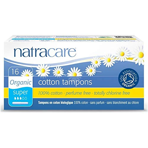 - Natracare 9002 Organic All Cotton Tampons With Applicator 16 Count