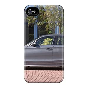 For GAwilliam Iphone Protective Case, High Quality For Iphone 4/4s Silver Ac Schnitzer Bmw Acs1 Side View Skin Case Cover by supermalls