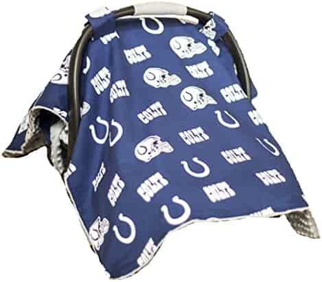 0a17a61fdf0 Carseat Canopy (NFL Indianapolis Colts) Baby Infant Car Seat Cover