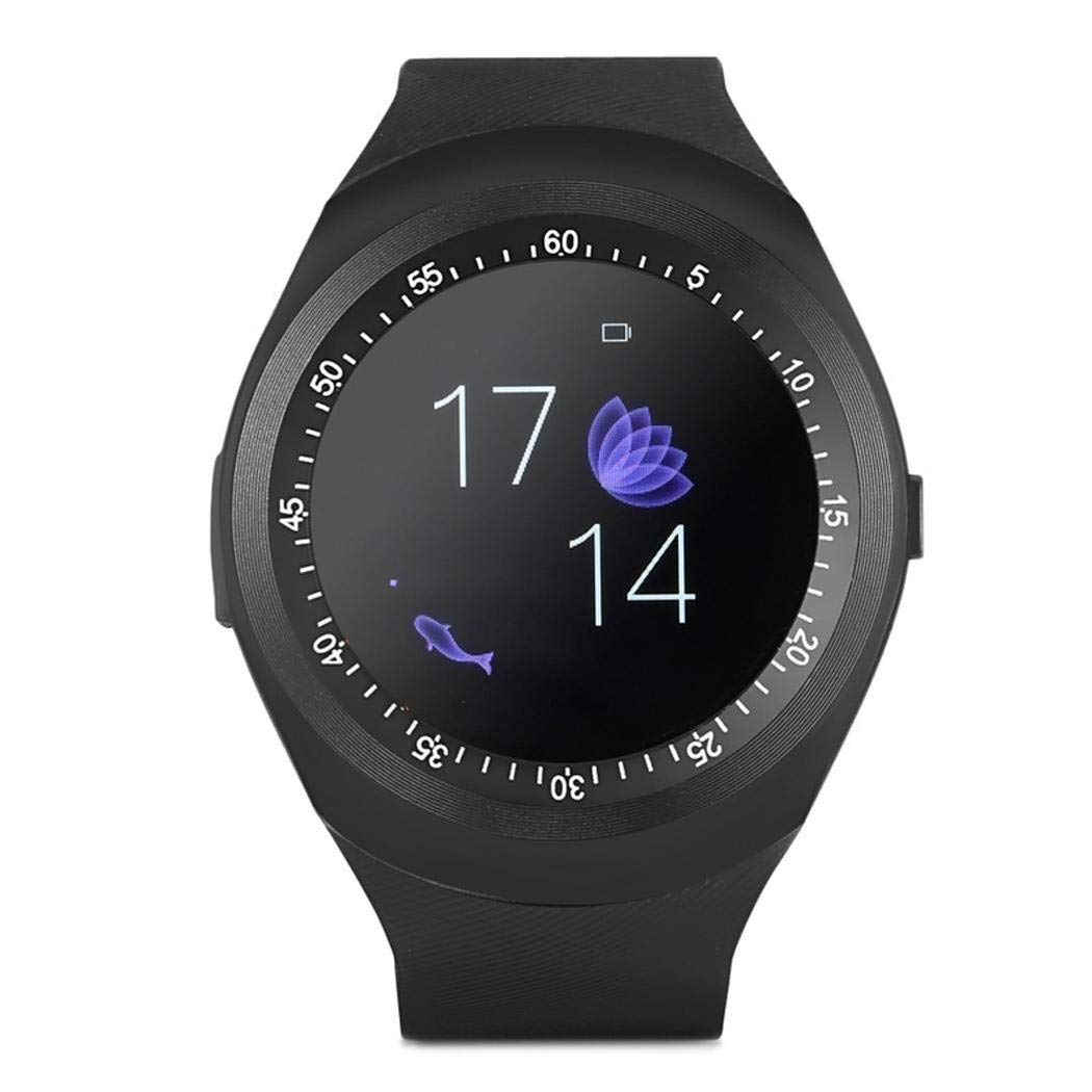 Cooshional Reloj Inteligente Deportivo con Pantalla Táctil, Smartwatch Fitness Hombre y Mujer Tracker para Android