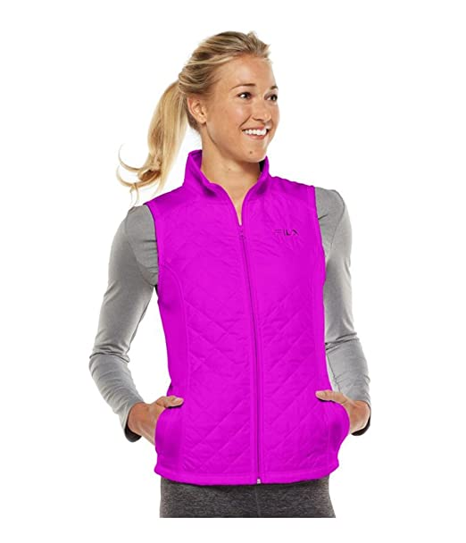 Fila Womens Runswift chaqueta de lana acolchada mixedbry XS ...