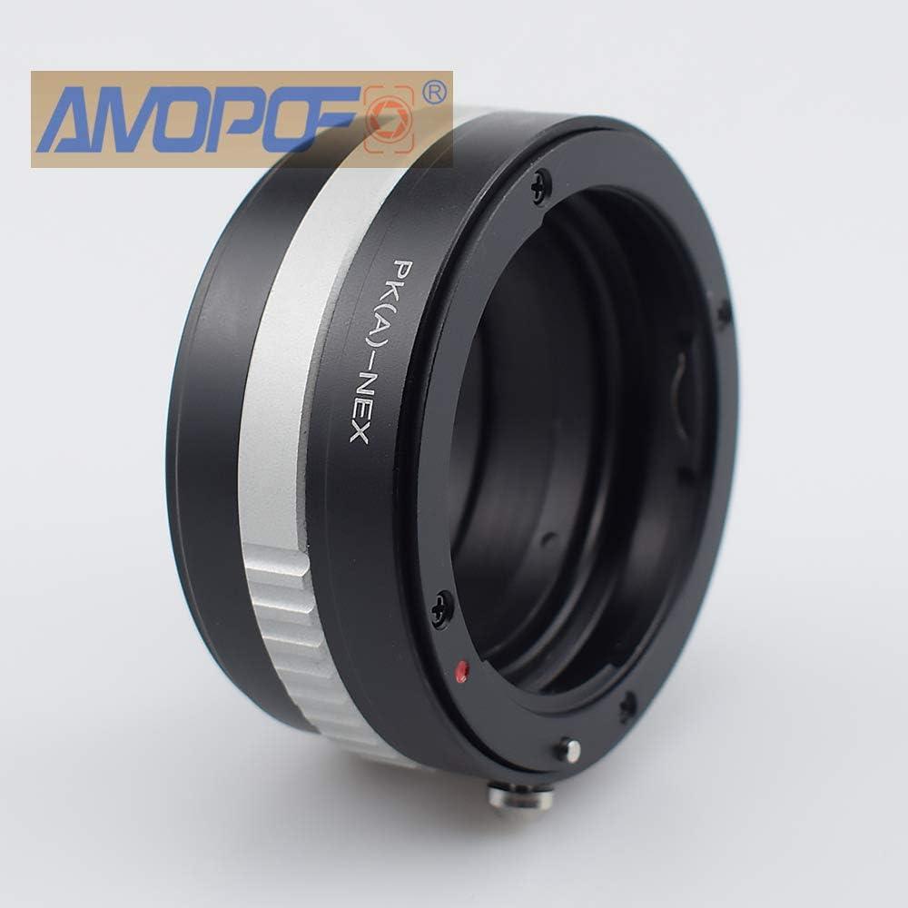 fits X100,X10,X-S1,X-Pro1,X-E1,XF1,X20,X100S,X-M1,X-A1,X-E2,XQ1,X-T1 PK AF to FX Lens Adapter Compatible with Pentax K AF Mount DSLR Lens to Fuji X Mount Cameras PKAF