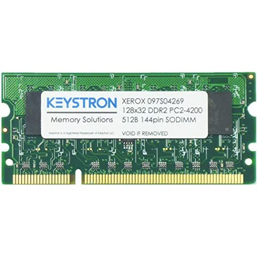 512MB DDR2 SODIMM MEMORY FOR XEROX PHASER 6500/6600 SERIES