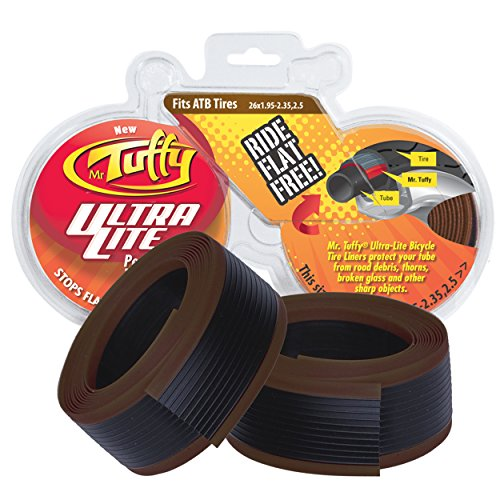 Mr. Tuffy Ultra Lite Bicycle Tire Liner, Brown ()