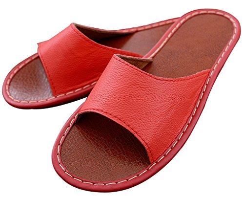 Pantofole Da Donna Destate In Blues Solide Comode Pantofole Da Donna Rosse