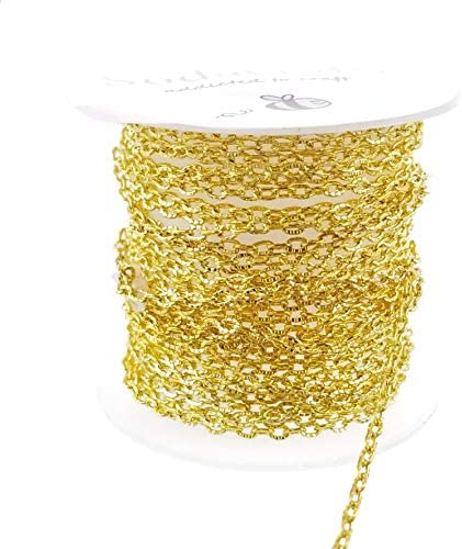 2.0x1.4mm SOLDERED link Necklace Bracelet Wholesale Chain bulk Gold Plated Chain Bulk Chain 300 ft spool of Tiny Cable Chain 2014S