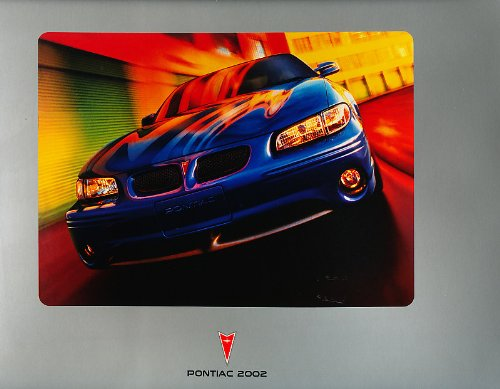 - 2002 Pontiac Grand Prix Sales Brochure Catalog Book GT GTP