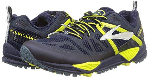 05d0a885881 Brooks Cascadia 10 Trail Running Shoe - Mens Midnight Sulphur Spring