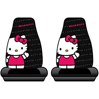 Red And Black Hello Kitty Car Seat Covers