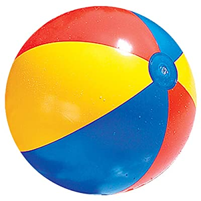 Swimline 24 Inch Inflatable Beach Ball: Home Improvement