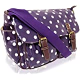 KukuBird brand new Polka Dot satchel, messenger, cross body bag
