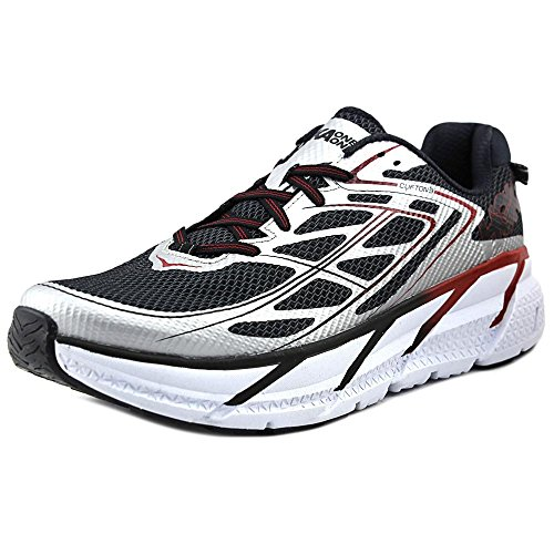 Hoka One One Mens Clifton 3 Silver/Formula One Running Shoe...
