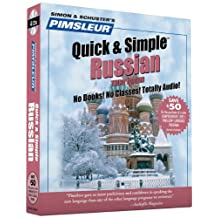 Pimsleur Russian Quick & Simple Course - Level 1 Lessons 1-8 CD: Learn to Speak and Understand Russian with Pimsleur Language Programs