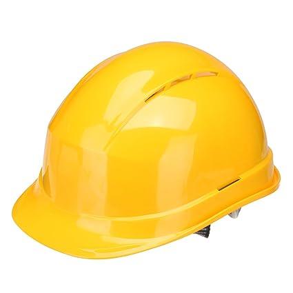 MASUNN Casco De Seguridad Abs Transpirable Borde Completo Gorra De Construcción Protector De Sombrero Duro -