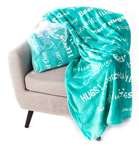 Blankiegram Hugs Blanket: The Perfect Caring Gift - Choice of Colors
