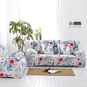 Sofa slipcover elástico,Fundas de sofá 全盖anti-slip Paquete ...