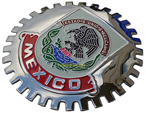 Mexico, Mexican Car Grille Badge