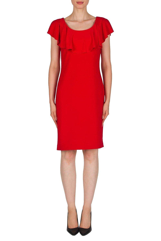 Joseph Ribkoff Red Dress Style 181022