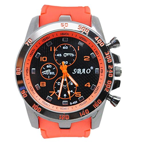 SMTSMT Stainless Steel Sport Modern Men Fashion Wrist Watch - Black