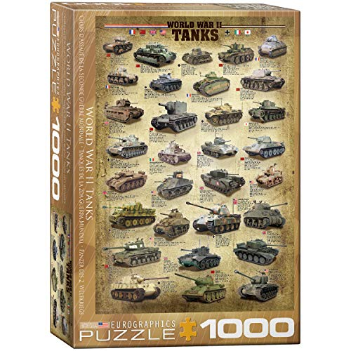 World Tank Museum - EuroGraphics Tanks of WWII 1000 Piece Puzzle