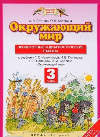 Okruzhayuschiy mir. 3 klass. Proverochnye i diagnosticheskie raboty k uchebniku G. G. Ivchenkovoy, I. V. Potapova, E. V. Saplinoy, A. I. Saplina ebook