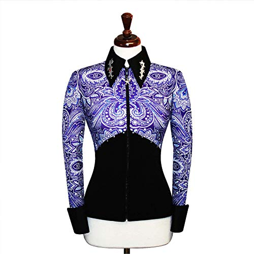 4172a823 Small Rodeo Western Horse Riding Show Jacket Horsemanship Pleasure Rail  Outfit Blouse