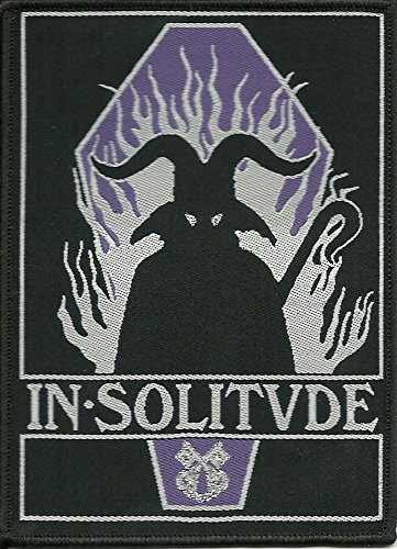 IN SOLITUDE-COFFIN-WOVEN PATCH ()