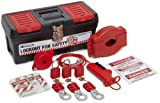 Brady Personal Valve Lockout Kit, Includes 3 Safety Padlocks