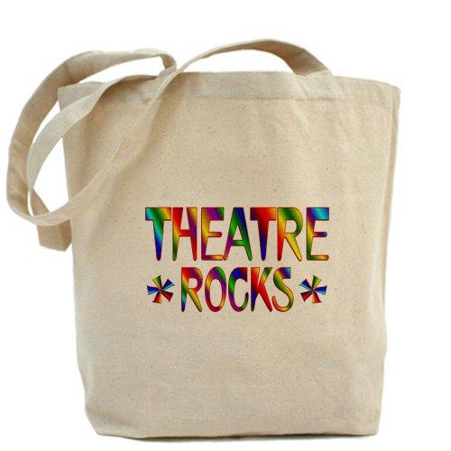 CafePress–Teatro–Gamuza de bolsa de lona bolsa, bolsa de la compra