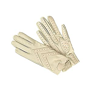 Isotoner Women's Driving Gloves, Bone, One Size